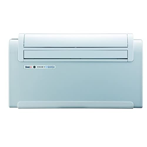 OLIMPIA 01067 Unico Quiet Inverter 12SF 11000 BTU Wall Mounted Air Conditioner Without Outdoor Unit up to 34 sqm, White