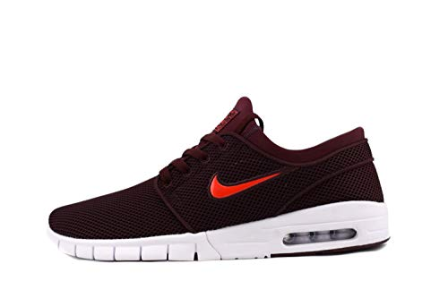 Nike Stefan Janoski Max - burgundy crush/habanero red-wh, Größe:8.5 (Stefan Janoski-shirt)
