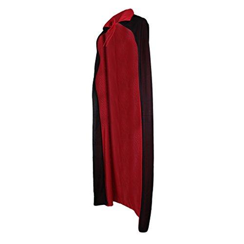 Gazechimp Halloween Zauberer Hexe Vampir Umhang Karneval Fasching Kostüm umhänge Cosplay Hexen Robe - (Hexe Halloween Frauen Kostüme)