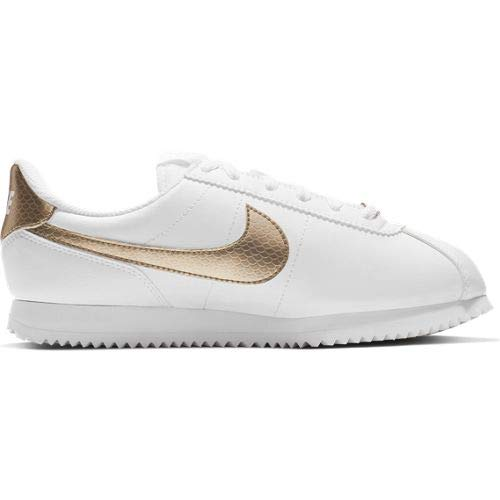Nike Damen Cortez Basic SL EP (GS) Leichtathletikschuhe, Mehrfarbig (White/Blur 000), 38 EU