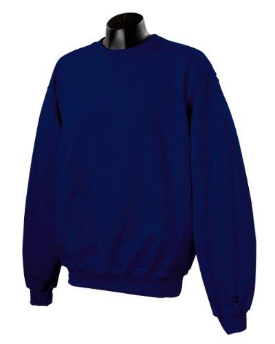 Champion Herren Asymmetrisch Sweatshirt Marineblau