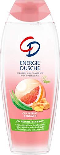 Duschgel-granatapfel-ingwer (CD Energie Dusche mit Grapefruit und Ingwer - Veganes Duschgel geeignet für empfindliche Haut - 6er Vorratspack (6 x 250 ml))