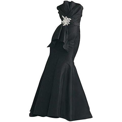 GEORGE BRIDE design semplice di vita sexy bowknot unico abito da sera sirena