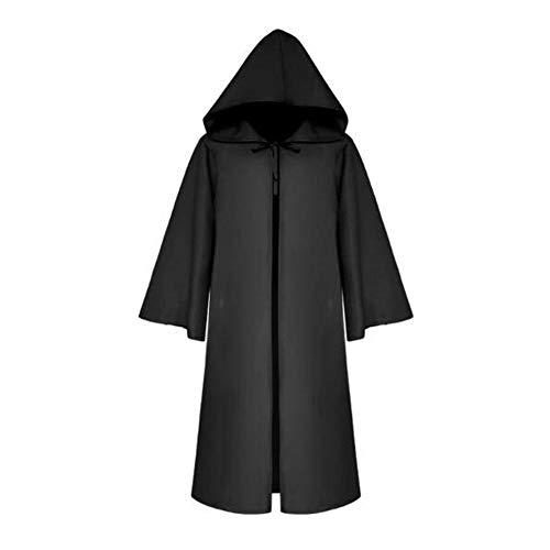 SHIYAREN Halloween-UmhangHalloween Jedi Knight Umhang Cape @BlackGotischer Umhang