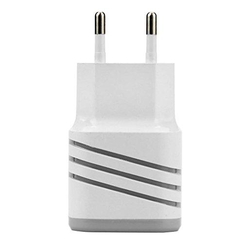 USB Ladegerät, FNKDOR 2 Ports Ladegeräte Handy, für iPhone / IPAD / Samsung Galaxy / Huawei und alle USB Geräte