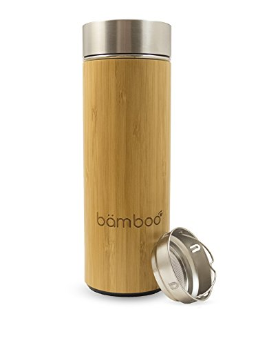 Bämboo Infusion Vacuum Bottle Bouteille à infusion