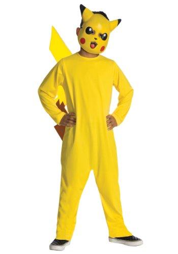 Rubie's Pikachu Kinderkostüm Pokemon Kostüm gelb-rot-schwarz 92/104 (3-4 Jahre) (Pokemon Kostüm Rot)