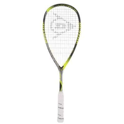 Dunlop hyperfibre + Revelation 125 raqueta de Squash (2017)