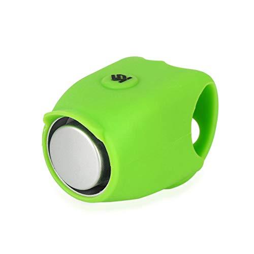 Ultra-Loud Fahrradklingel Fahrrad Elektrische Ring Horn Sicherheit Radfahren Alarm Lenkerhalterung Klar Laut Warnung Glocke mit Silikonhülle (Elektronische Horn)