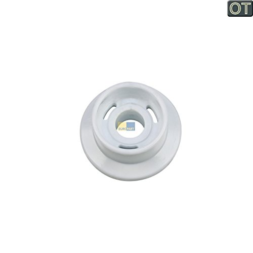 ORIGINAL Indesit Ariston C00040993 Korbrolle Rolle Rad Geschirrkorb Korbrolle für Unterkorb Spülmaschine Geschirrspüler auch Bauknecht Whirlpool 482000026418