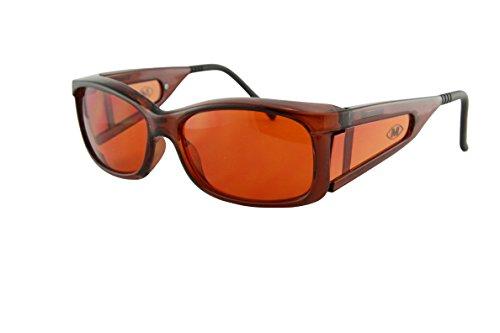 MediView Sonnenbrille für Makularerkrankungen (AMD und Retinitis Pigmentosa, MediView-Zusatzfilter, empfohlen von RNIB - EyeC Style