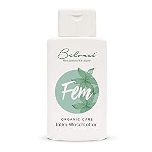 Bilomed Fem: Intimwaschlotion mit Milchsäure. Zur schonenden Reinigung und täglichen Intimbereich Pflege. Bio Intim Waschgel für Frauen & Männer