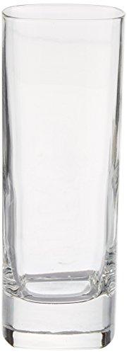 Strauss Longdrinkglas, quadratisch, 250ml, 6 Stück 9 Oz Hi-ball Glas