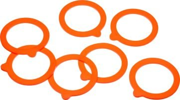 Kitchen Craft Home Made Glass Spare Silicone Preserving Sealing Ring,