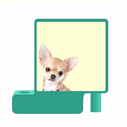 Pc Duro Niña Kawaii Usar En Green Pen Holder Imprimir Con Chihuahua Green Lazy Susan