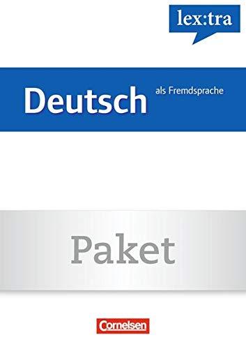 Lextra - Deutsch als Fremdsprache - Grund- und Aufbauwortschatz nach Themen: A1-B1 (Übungsbuch) und A1-B2 (Lernwörterbuch) - Übungsbuch Grundwortschatz und Lernwörterbuch: 01559-7 und 01560-3 im Paket