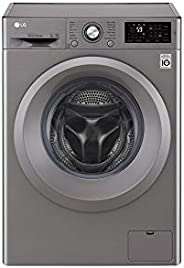 LG 7Kg 1200 RPMFront Load Washing Machine, Silver - F2J5QNP7S, 1 Year Warranty