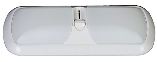 arcon-51267-white-double-dimmable-led-euro-style-light-by-arcon