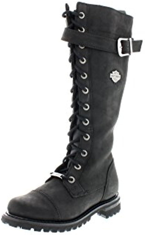 Harley Davidson, Stivali donna donna donna Nero nero, Nero (nero), 38 | vendita di liquidazione  f1d280