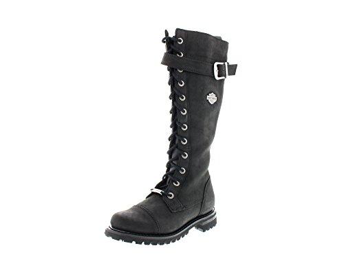 HARLEY DAVIDSON Chaussures Femmes - Bottes SAVANNAH - black Schwarz (Black)