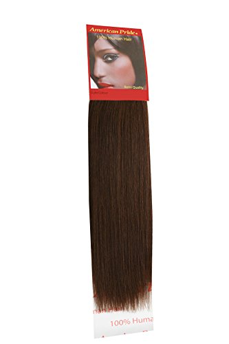 tissage Yaki Marron (4) 40,6 cm | Coupe Cheveux Extensions Extensions de cheveux humains | | 40,6 cm American Pride 4