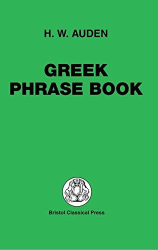 Greek Phrase Book (Greek Language)