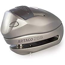Artago 26S.10M Candado Antirrobo Disco con Alarma Y Warning Inteligente ø10 120db, ...