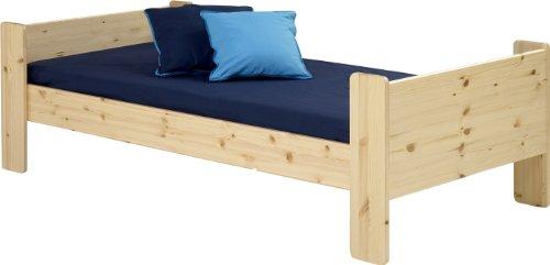 Steens For Kids Kinderbett, Einzelbett, Liegefläche 90 x 200 cm, Kiefer massiv, natur