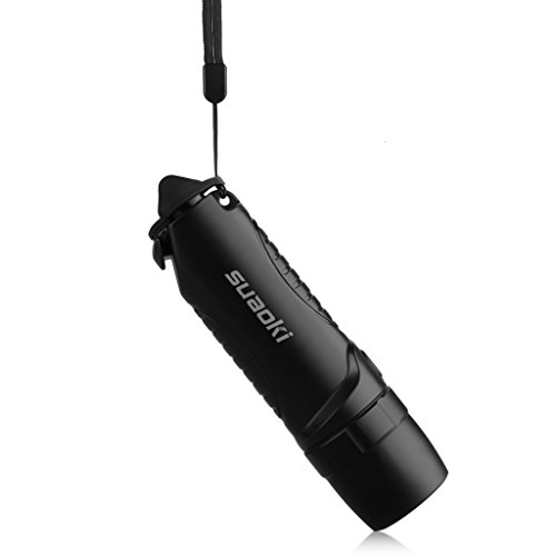 Suaoki TC7 - 5200mAh Linterna LED Recargable Impermeable IPX6 (Cargador...