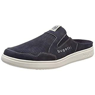 bugatti Herren 321724615900 Slipper, Blau (Dark Blue 4100), 42 EU