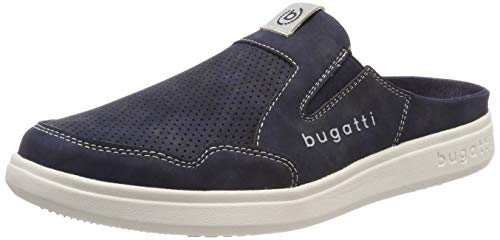 bugatti Herren 321724615900 Slipper Blau (Dark Blue 4100) 46 EU