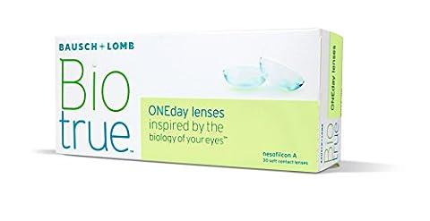 Biotrue ONEday Inspiriert von der Natur Ihrer Augen Tageslinsen weich,