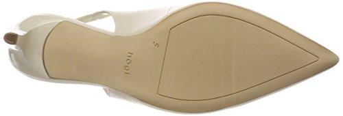 Högl 5-10 6803 0900, Scarpe con Cinturino alla Caviglia Donna Bianco (Champagner)