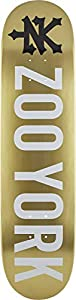 "ZooYork Logo Skateboard Deck (8"" - Gold)"