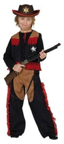 Rubies 1 2391 104 - Cowboy 2-teilig Größe 104 (Cowboy Themen Kostüm Ideen)