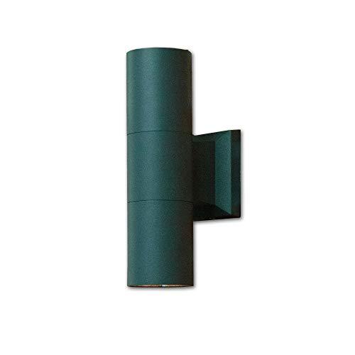 Up & Down Fassadenstrahler für die Hauswand in anthrazit Außenleuchte 2x E27 bis zu 60 Watt 230V Wandlampe Wandleuchte für Außen Hof Garten