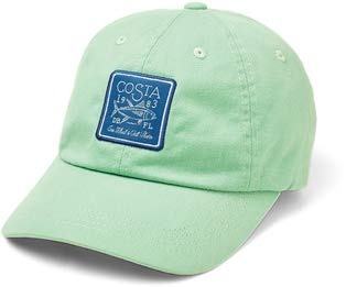 Costa Del Mar-Costa Longboat Patch Hat, Herren, Mint, Einheitsgröße