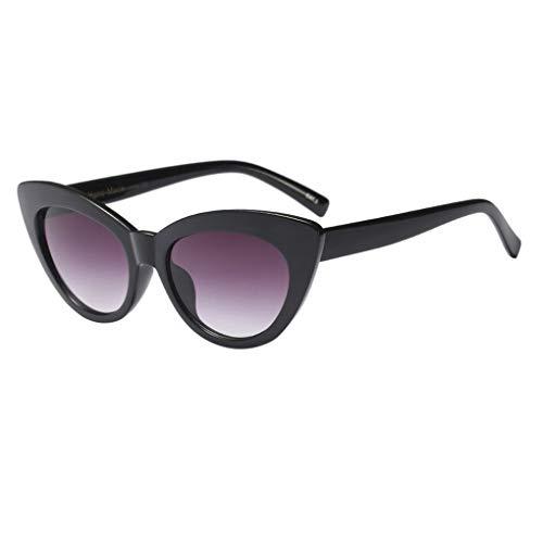 Dorical Retro Brille für Unisex/Damen Herren klassische Sonnenbrille Vintage Brille PC gestell...