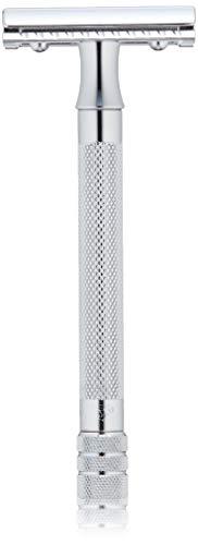 Rasoir de Sécurité Merkur 23C - Manche Long - Chrome