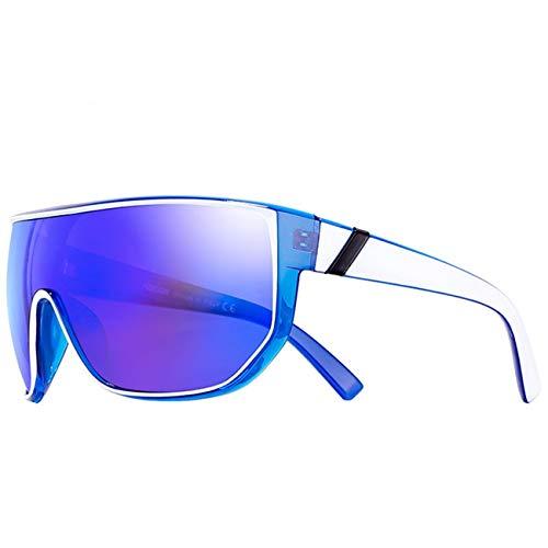 AOCCK Brillen Sonnenbrillen Happy Oversized Men Sunglasses With Designer Box Big Sun Glasses Women Anteojos De Sol UV400 UV400 C6