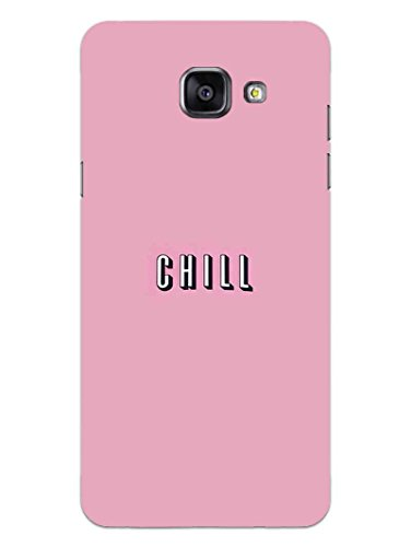 Samsung On Max Back Cover - Take A Chill Pill - Quote - Hard Shell Back Case  available at amazon for Rs.469