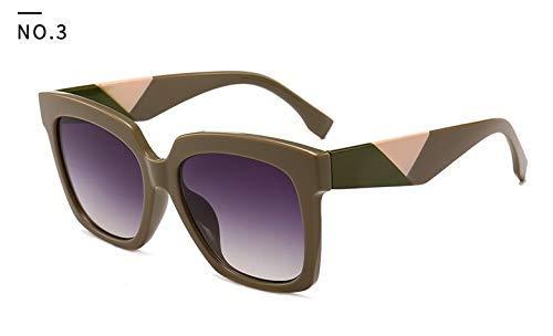 GFF 46025 Quadrat Medusa Sonnenbrille Männer Frauen Trend Styles Vintage Brand Brillen Mode Männlich Weiblich