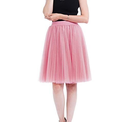 Tutu Damen Frauen Bubble Mode Minirock Tütü Cosplay Kurz Tanzkleid Party Minirock Weihnachten Kostüm Prinzessin A-Linie Kleid ()