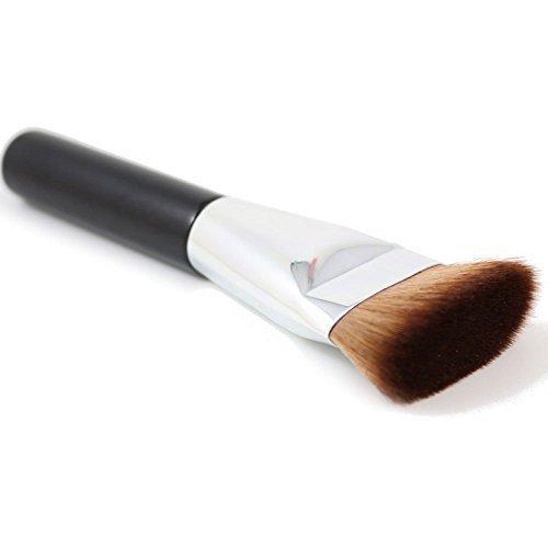Sunnicy Pinceau Plat Contour makeup Blush Brosse Maquillage Joues Visage Fondation Cosmetique