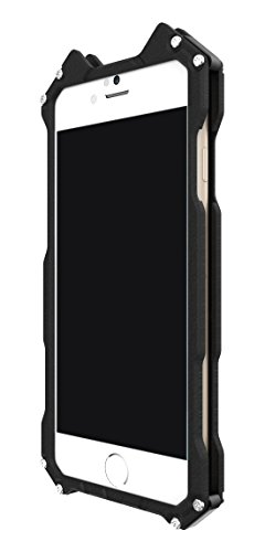 iPhone 6S Custodia ,Cover iPhone 6 , iPhone 6S Case Custodia Bumper Cover Difensore Combo duro Shock-Absorption Bumper e Anti-Scratch Back Nero per Apple iPhone 6 6S 4.7 iPhone 6 nero