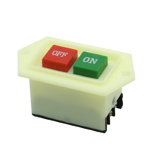 , – 5 On/Off 2 Position 3 Polen Latching Push Button Switch 380 V 220 V