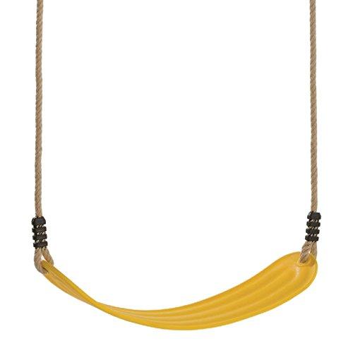 WICKEY elastischer Schaukelsitz Gelb