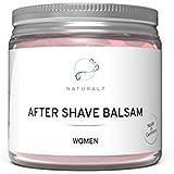 NATURAL7® After Shave Balsam Women   200ml Frauen-Balsam   Die effektivste Methode gegen Rötungen und Pickel nach Intimrasur, Epilieren oder Waxing