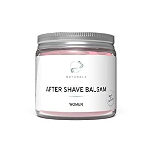 NATURAL7® After Shave Balsam Women | 200ml Frauen-Balsam | Die effektivste Methode gegen Rötungen und Pickel nach Intimrasur, Epilieren oder Waxing