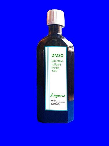 Preisvergleich Produktbild DMSO Dimethylsulfoxid 99,9% 3 x 250ml in Glasflasche 750ml Braunglasflasche
